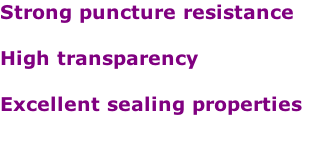 Strong puncture resistance